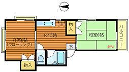 パークタカヤマ[2階]の間取り