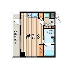 神奈川県横浜市中区長者町9丁目の賃貸アパートの間取り