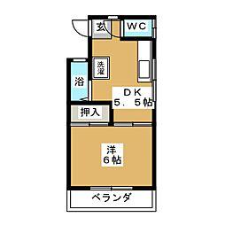 パロアルト[1階]の間取り