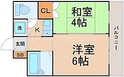 ニューシティーマンション[3階]の間取り