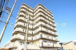香川県高松市上福岡町の賃貸マンションの外観