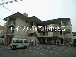 岡山県岡山市北区大和町2丁目の賃貸マンションの外観