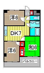 PLATA TOMIOKA[3階]の間取り