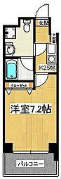 エレンシアK[402号室]の間取り