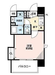 レオンコンフォート新梅田III[9階]の間取り