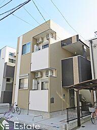 愛知県名古屋市東区東大曽根町の賃貸アパートの外観