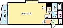 内山第62ビル[403号室]の間取り