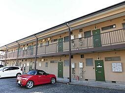 栃木県佐野市赤坂町の賃貸アパートの外観