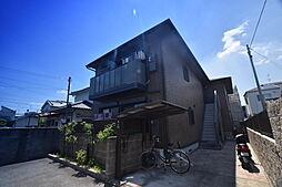 大阪府富田林市若松町5丁目の賃貸アパートの外観