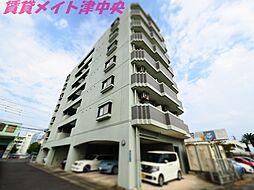 三重県津市東丸之内の賃貸マンションの外観