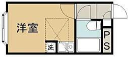 ベルピア霞ヶ関第2[2階]の間取り