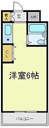 アベノ寿ビル[3階]の間取り