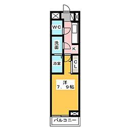 ラスパシオ[1階]の間取り