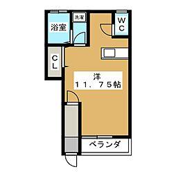 エールハウス[1階]の間取り