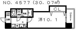 Luxe天王寺(ラグゼ天王寺)[5階]の間取り