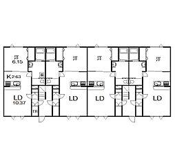 緑が丘東4−1新築[203号室]の外観