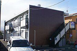 中谷戸ハイツ[201号室]の外観