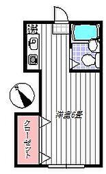 アドレス百合丘[105号室]の間取り