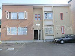 コンパートメントハウス北34条[1階]の外観