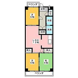 熱田マンション[7階]の間取り