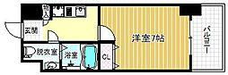 ラグゼ海老江[8階]の間取り