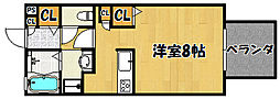 兵庫県神戸市西区玉津町小山の賃貸アパートの間取り
