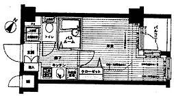 エルミタージュ代田橋[3階]の間取り