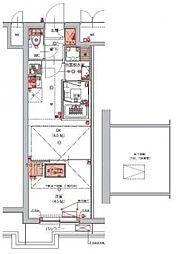 (仮)東京南砂パークサイドレジデンス 1階1DKの間取り