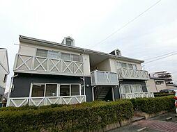 上津コーポA[1階]の外観
