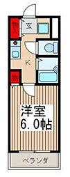 常盤9[2階]の間取り