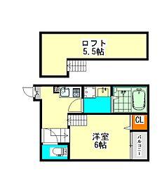 ハーモニーテラス十番IV(ハーモニーテラスジュバンフォー)[1階]の間取り