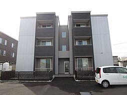 北海道札幌市北区篠路一条4丁目の賃貸アパートの外観