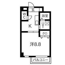 クレール i (アイ)[1階]の間取り
