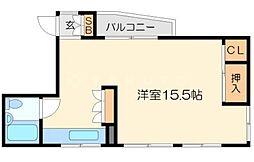 ポンテマンション[3階]の間取り