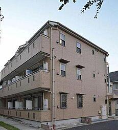 神奈川県横浜市鶴見区仲通1丁目の賃貸アパートの外観