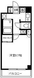 maison KAZ[103号室]の間取り