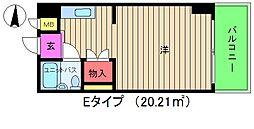 グレイスフル中崎2[8階]の間取り