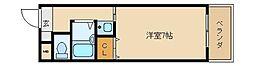 エーデルハイム東花園[2階]の間取り