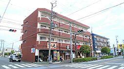 静岡県静岡市駿河区東新田2丁目の賃貸マンションの外観