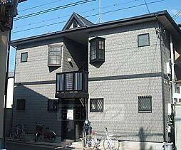 京都府向日市寺戸町芝山の賃貸アパートの外観