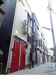 東京都大田区羽田5丁目の賃貸アパートの外観