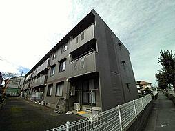 埼玉県桶川市朝日2丁目の賃貸アパートの外観