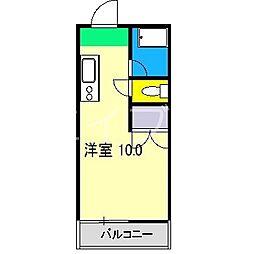 クレイン[2階]の間取り