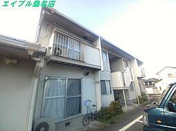 三重県桑名市大字赤尾の賃貸アパートの外観