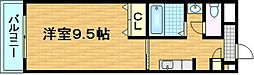 ジュネス藤[209号室]の間取り