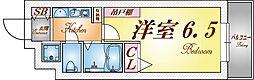 EC三宮山手Ⅱソアーレ[12階]の間取り