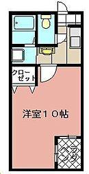 メゾンド・グロウ・21[3階]の間取り