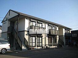 コーポ仲田 A[1階]の外観