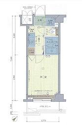 ルーブル大塚[6階]の間取り