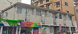 大阪府高槻市野見町の賃貸アパートの外観